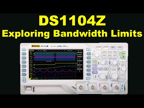 Video of RIGOL DS1104Z Scope exposé: new 4-ch - exploring its bandwidth limits