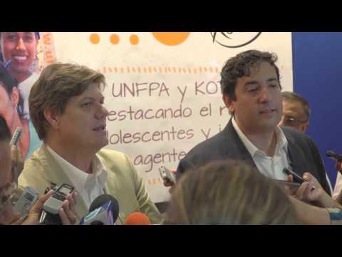 Alianza Kimberly Clark y UNFPA