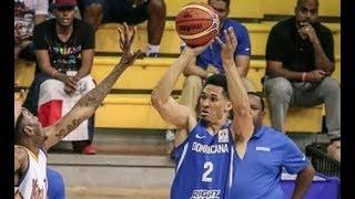 Rigoberto Mendoza Mejores Jugadas República Dominicana vs Bahama FIBA FBWC 2018 Selección Dominicana