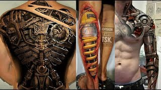 Amazing 3D Tattoos 2018  That Will Make You Do A Double Take 100%
