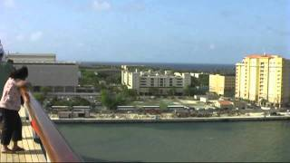 preview picture of video '00047 Cruiseship Carnival Liberty - Puerto Rico'