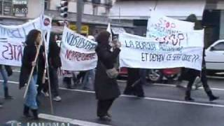 preview picture of video 'Manifestation contre la loi anti-burka (Tours)'