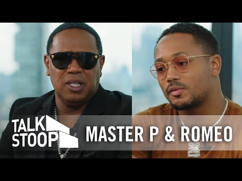 Master P and Romeo on Their Father-Son Relationship and Working Together | Talk Stoop