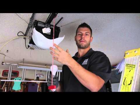 Garage Door Opener Problems Caused by Light Bulbs!