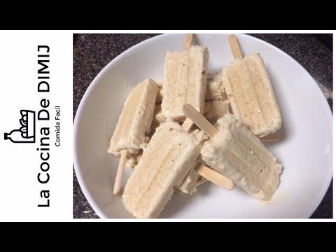 Paletas de Arroz con leche