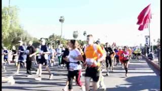 preview picture of video 'Marrakech Half Marathon 2014'