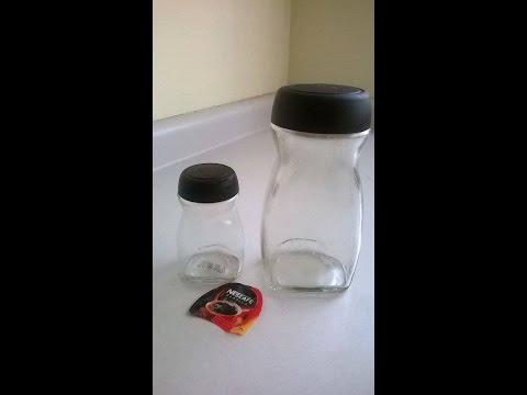 como quitar etiquetas frascos super facil
