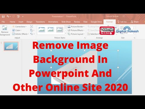 How To Remove Image Background In Powerpoint And Other Online Site