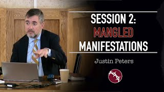 Justin Peters - Clouds Without Water - Session 2: Mangled Manifestations