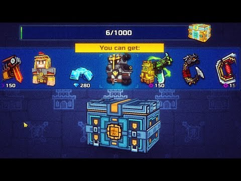 Winner Chests Opening - Gladiator Fights Event - Pixel Gun 3D