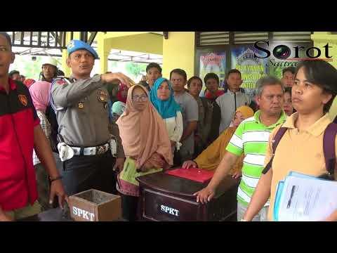 Ratusan Orang Diduga Korban Penipuan MLM QNET Laporkan Oknum Kepolisian Ke SPKT Polda Sultra