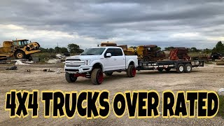 4x4 TRUCKS OVER RATED BUY A 2WD TRUCK TRUST ME