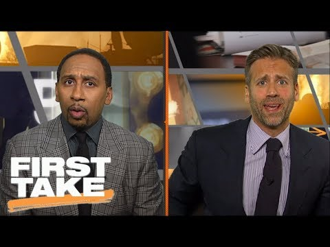 ESPN First Take Live 2/28/18 - Today Stephen A. Smith & Max Kellerman - ESPN LIVE HD