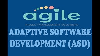 ( PART-15 ) ADAPTIVE SOFTWARE DEVELOPMENT IN AGILE SOFTWARE DEVELOPMENT (URDU / HINDI)