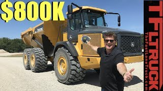 So How Does a $800,000 Truck That Can Haul 91,000 Lbs Drive?
