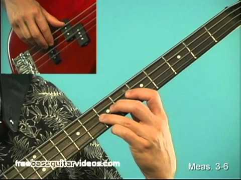 Bass Lesson: Easy Reggae Line