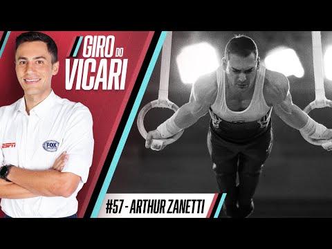 Arthur Zanetti, medalhista olímpico e pai   Giro do Vicari - Ep. #57