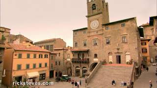 Thumbnail of the video 'Italy's Cortona: A Classic Hill Town'