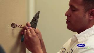 Carrier at Home with Danny Lipford - Carrier® Côr™ Thermostat Installation