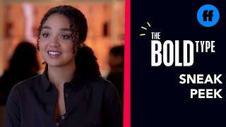 The Bold Type | Season 4 episode 13 | Sneak Peek 3 : Kat Pitches Her Podcast Idea (VO)