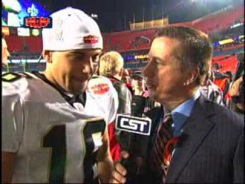 Lance Moore Post Game Super Bowl Interview