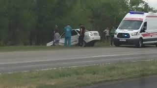 Авария на трассе Рудный-Костанай