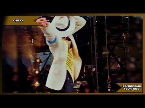 Michael Jackson - Smooth Criminal - Live Oslo 1992 - HD