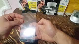 Samsung Galaxy A5(2017)клеим 3D стекло