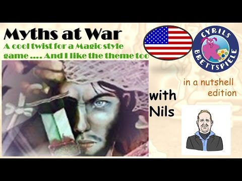 Cyrils Brettspiele - Myths at War - in a nutshell (N39) - Magic battle?