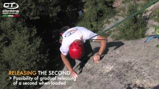 ALPINE UP (English) Revolutionary Belay/rappel Device From Climbing Technology