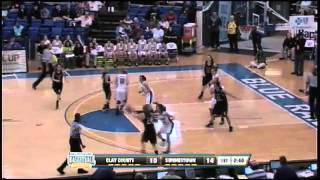 Clay County's Sidney Roach drains a NBA-range 3 pointer