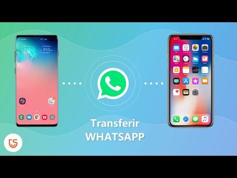 pasar mensajes de whatsapp de android a iphone