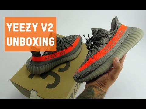 bfb60d18816 Adidas yeezy 350 boost v2 beluga unboxing