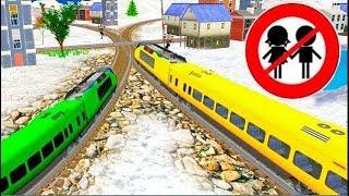 Мультики. Развивающие видео для детей про машинки и поезда.