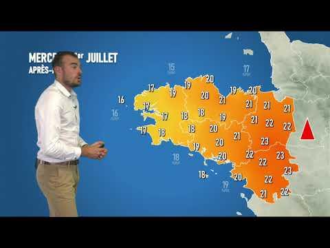 Illustration de l'actualité La météo de votre mercredi 1er juillet 2020