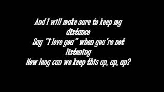 Christina Perri - Distance lyrics