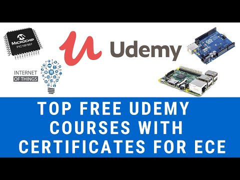 Free Udemy Courses with certification 2020 | Electronics and ...