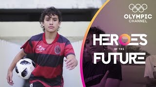 Is 12 year old footballer Lucianinho the next Neymar? | Heroes of the Future