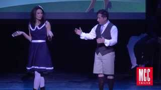 "Laura Benanti and Christopher Fitzgerald sing ""Sixteen Going on Seventeen"" from The Sound of Music"