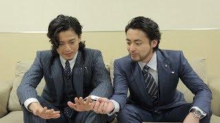 小栗旬&山田孝之が仲良すぎ互いに10年前からズレないところを語る「arrows」新CMインタビュー映像が公開