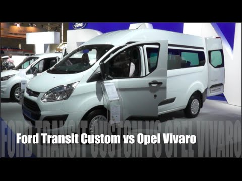 Ford Transit Custom VAN Фургон класса M - тест-драйв 4