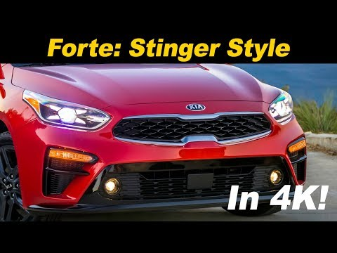 2019 Kia Forte - Is It The Stinger's Mini-Me?