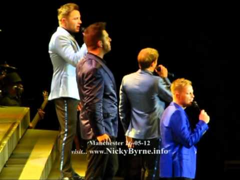 Westlife Full Queen Of My Heart Manchester 26-05-12.mpg Mp3