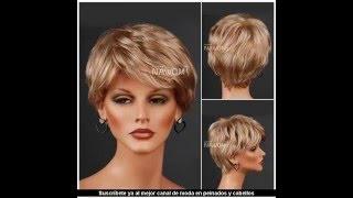 Corte de cabello tipo pato