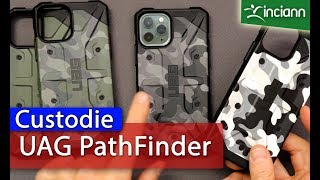Apple iPhone 11 Pro+Max: Custodie UAG Pathfinder verde oliva ed SE Camo tutti i colori