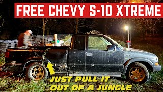 FREE Chevy S10 Xtreme BUT I Have To Go RECOVER It