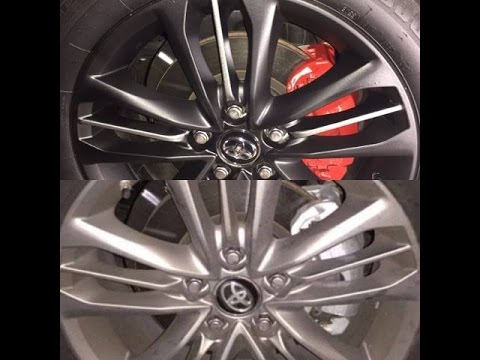 How To Spray Paint Your Wheels / Rims And Calipers