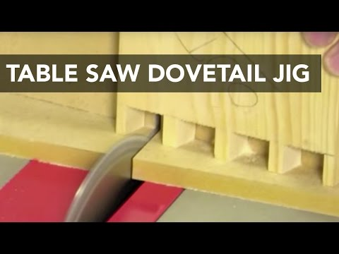 Table Saw Dovetail Jig