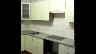 Кухня  фото № 11 фасад постформинг цвет Оливковый . от компании Фаберме - видео 2