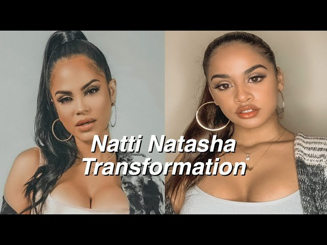 Transforming Myself Into Natti Natasha Narali Mota